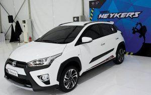 All New Toyota Yaris Heykers