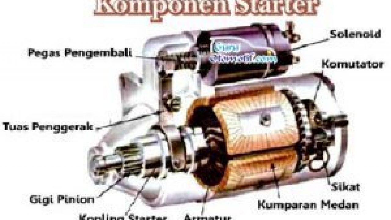 9 Komponen Starter Mobil Dan Fungsinya Showroom Mobil